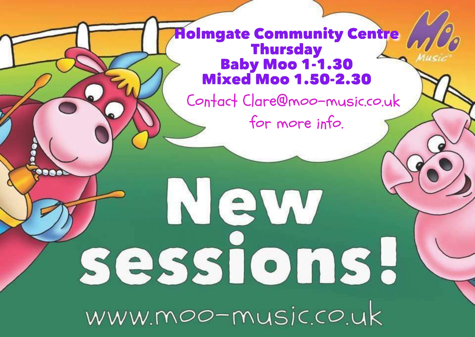 Are you ready for 'Moo Music'?